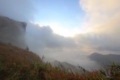 mare del ` del ` della foschia di mattina al 'chi' Fa di Phu Fotografia Stock Libera da Diritti