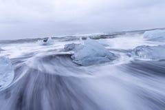 Mare del ghiaccio, Islanda Fotografia Stock Libera da Diritti