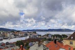 Mare del Nord, Bergen, Norvegia Immagini Stock