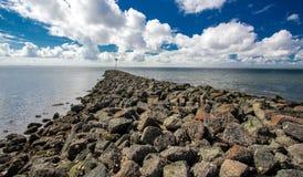 Mare del Nord, Schlesvig-Holstein fotografie stock libere da diritti