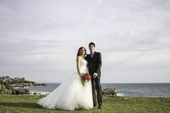 Mare del paesaggio di matrimonio Immagine Stock