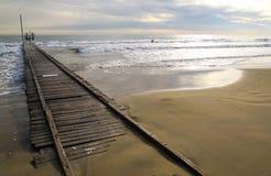 Mare del pilastro nell'inverno Fotografia Stock Libera da Diritti