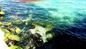 Mare dell'acqua blu Fotografie Stock Libere da Diritti