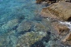 Mare dell'acqua con la riflessione Immagine Stock Libera da Diritti