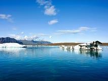 Mare dell'Artide dell'Islanda Immagini Stock