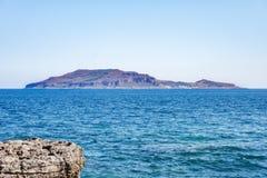 Mare dell'isola di Levanzo Fotografia Stock Libera da Diritti