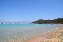 Mare dell'isola di Porquerolles in Francia Fotografia Stock