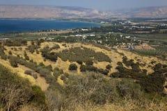 Mare della Galilea Fotografia Stock Libera da Diritti