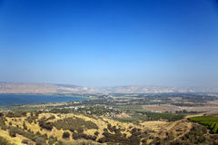 Mare della Galilea Fotografia Stock