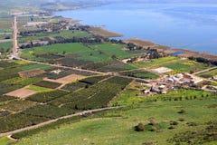 Mare della Galilea, Israele fotografie stock