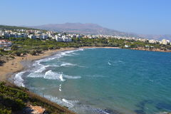 Mare della Grecia Fotografie Stock Libere da Diritti