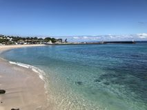 mare della La Réunion di Gilles del san fotografia stock