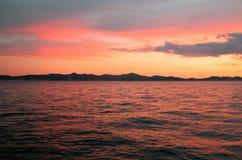 Mare della lava fotografia stock libera da diritti