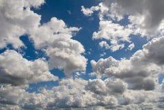 Mare della nuvola fotografia stock libera da diritti