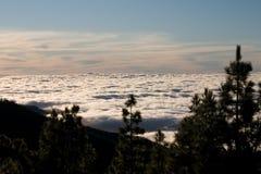 Mare della nuvola Immagini Stock Libere da Diritti