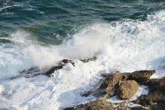 Mare della riva Fotografie Stock Libere da Diritti