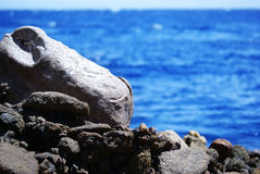 Mare della roccia fotografia stock libera da diritti