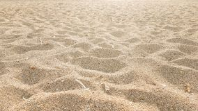 Mare della sabbia della spiaggia a Preveza Grecia immagini stock