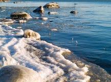 Mare della sorgente Fotografia Stock