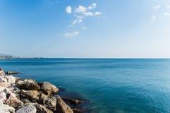 Mare della spiaggia del Batis Fotografie Stock Libere da Diritti
