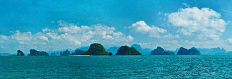 Mare delle Andamane Fotografie Stock Libere da Diritti