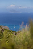 Mare delle isole di Eolie Aeolie Immagini Stock