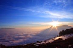 Mare delle nubi Fotografie Stock