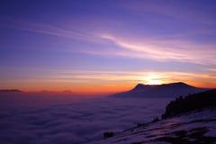 Mare delle nubi Immagini Stock