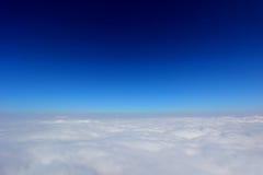 Mare delle nubi Fotografia Stock