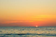 Mare di Andaman vicino al villaggio di Kamala Fotografia Stock Libera da Diritti