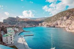 Mare di Balaclava Sebastopoli Fotografia Stock