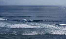 Mare di Bali Fotografia Stock