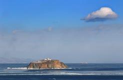 Mare di Giappone in inverno 9 Fotografie Stock Libere da Diritti