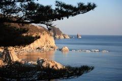 Mare di Giappone. Isola 13 immagini stock