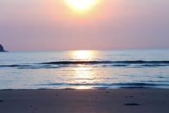Mare di mattina Fotografia Stock