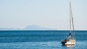 Mare di Napoli Immagini Stock Libere da Diritti
