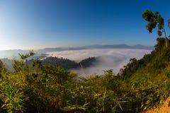 Mare di nebbia Fotografie Stock