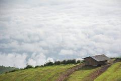 Mare di nebbia Fotografia Stock
