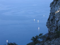 Mare di Palermo Fotografie Stock Libere da Diritti