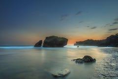 Mare di tramonto immagine stock libera da diritti