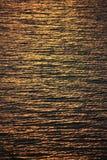 Mare dorato Immagine Stock