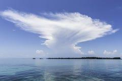 Mare e cielo Fotografia Stock Libera da Diritti