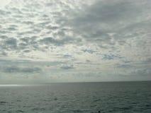 Mare e cielo Immagini Stock Libere da Diritti