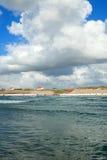 Mare e cielo a Aarhus in Danimarca Fotografia Stock Libera da Diritti