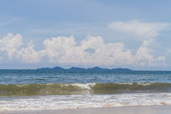 Mare e cielo blu Immagine Stock Libera da Diritti