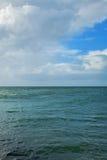 Mare e cielo in Danimarca Immagine Stock