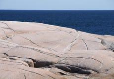 Mare e cielo della roccia Immagine Stock Libera da Diritti