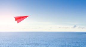 Mare e cielo nel concetto di affari di turismo Immagine Stock Libera da Diritti