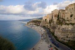 Mare e linea costiera meravigliosa Fotografie Stock Libere da Diritti