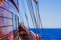 Mare e mare dell'yacht in rosso Egypt Fotografie Stock
